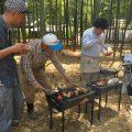 大原野タケノコ朝掘り体験!とれたてタケノコ料理